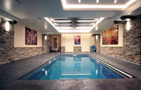 Basement Pool Addition